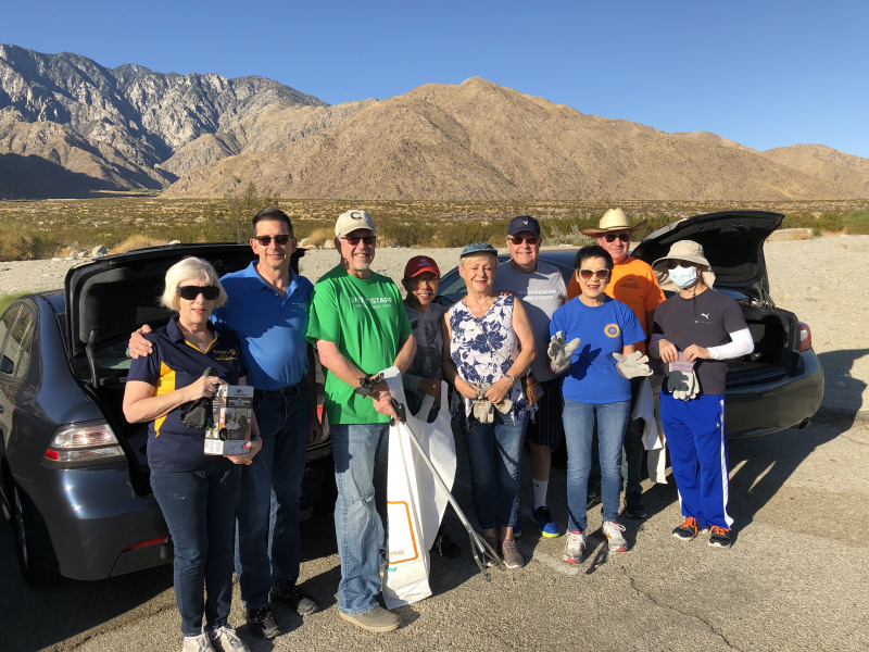Highway Cleanup November 9 2019 Kevin Moore and his crew